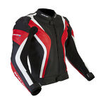 Spada Curve Leather Sport Race motorcycle Jacket Black/Red