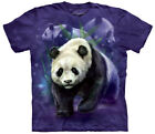 Panda Collage Adult T-Shirt Tee
