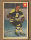 1954-55 Parkhurst Hockey Card LEO LABINE Boston Bruins #61