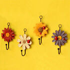 Cute Wall Hook Cartoon Daisy Coat Hat Holder Wall Decor Featured Kitchen Tools