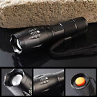 8000LM CREE XM-L T6 LED Flashlight Zoomable Waterproof 18650 Torch Lamp G700 MT