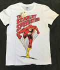 DC COMICS THE FLASH THE SCARLET SPEEDSTER WHITE -T-SHIRT DC ORIGINALS
