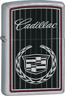 Personalised Cadillac Street Chrome Zippo Lighter Engraved Gift