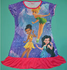 NEW Girl TinkerBell Purple summer dress Size 3,4,5,6