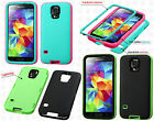 For Samsung Galaxy S5 IMPACT Lightning Verge Glow HYBRID Case Skin Phone Cover
