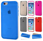 For Apple iPhone 6 PREMIUM Glossy TPU Hard Skin Cover Case + Screen Protector