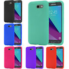 For Samsung Galaxy J3 EMERGE Rugged Rubber SILICONE Soft Gel Skin Case Cover