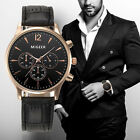 Luxury Fashion Crocodile Faux Leather Mens Watches Analog Quartz Wrist Watch Hot