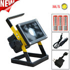 Rechargeable 30W 2400LM T6 LED Floodlight Work Light Camping Lamp 18650&Charger