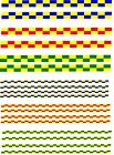 police battenburg markings for DECAL choice of colours & types  CODE 3 cararama