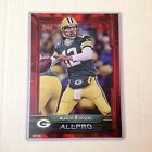#252 AARON RODGERS Packers california MVP #ed/25 made Red Version 2015 Topps 5x7