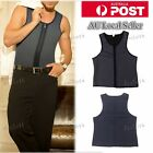 Slimming Vest Neoprene Shaper Men Slimming Belt Body Shaper Underclothes AU SELL