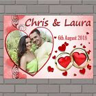 Personalised Congratulations Wedding Engagement PHOTO Poster Print Banner N148