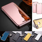 Smart Luxury Mirror Clear View Wallet Flip Case Cover For Apple iPhone 5s 6s 7 8