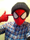 SHIPS FAST! Stunning Amazing Spider-Man Mask Elbow-length Gloves Costume Props