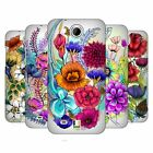HEAD CASE DESIGNS WATERCOLOURED FLOWERS HARD BACK CASE FOR HTC PHONES 3