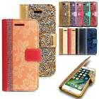 Magnetic Leather Card Holder Wallet Flip Case Cover for Samsung Galaxy Models