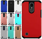For LG K20 Plus HARD Astronoot Hybrid Rubber Silicone Case Phone Cover Accessory