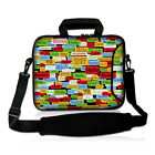 """10"""" Laptop Bag Carry Neoprene Case ipad Cover Shoulder Bag For Toshiba Sony Dell"""