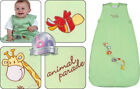 Green Animal Parade 1.0 Tog Baby Sleeping Bag - The Dream Bag 0-6m,6-18m,18-36m