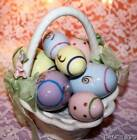 """Easter Music Box Basket  Of Eggs Cosmos """"These Are A Few Of My Favorite Things"""""""