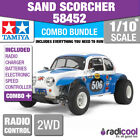 COMBO DEAL! 58452 TAMIYA SAND SCORCHER 1/10th R/C KIT RADIO CONTROL 1/10