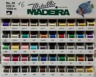 Madeira Metallic No. 40 Embroidery Thread (9842) - 200m - Choose your colors