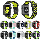 US SHIP! Replacement Silicone Sport Bracelet Strap Apple Watch Band Series2/1