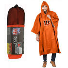New NFL 32 Teams Available Reusable Adult Rain Poncho Hooded &amp; Storage Pouch <br/> #Best Selling Rain Poncho #Official Licensed #1 Seller