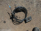 MG ZS / Rover 45 Bonnet Release Cable Complete with Lever & Catches