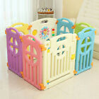 New Baby Playpen Indoor & Outdoor Safety Play Fence Pen Educational Panels Toys