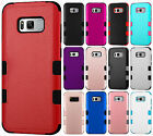 Samsung Galaxy S8 / S8 PLUS IMPACT TUFF HYBRID Protector Case Skin Phone Cover