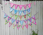 Preppy Colorful Lilly Pulitzer Fabric Bunting Flag Banner Swag in 2 Sizes