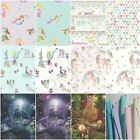 ARTHOUSE GIRLS IMAGINE FUN & GLITTER WALLPAPER - MERMAID, UNICORN & MORE