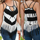 Fashion Women Sleeveless Vest Top Shirt Blouse Casual Tank Tops T-Shirt S M L XL
