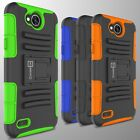 Hybrid Kickstand Case & Holster For LG X Power 2 / K10 Power / Fiesta Cover