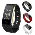 Waterproof Bluetooth Smart Watch Mate For Android IOS Smartphones Heart Rate