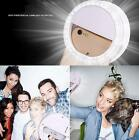 US Nice Selfie LED Ring Flash Fill Light Clip Camera For iPhone Huawei Samsung