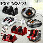 Foot Electric Massager Machine Calf Leg Ankle Shiatsu Kneading Rolling Heating