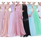 Formal Long Women Lace Dress Prom Evening Party Cocktail Bridesmaid Wedding