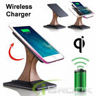 360° Rotating Qi Wireless Fast Charger Charging Dock Stand Holder for Samsung LG