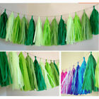 Tissue Paper Tassels Garlands Bunting Wedding Party Decor Party Balloon Tail