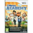 Mensa Academy Game Wii Brand New