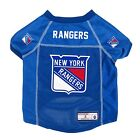 New York Rangers NHL Pet dog jersey shirt (all sizes) NEW