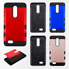 For ZTE ZMAX PRO Tuff Trooper HYBRID TPU Case Protector Phone Cover Accessory