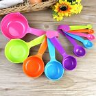 5pcs/Set Baking tools Colorful ABS Spoon flour Seasoning spoon Measuring spoon
