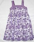 Girls Dresses Floral Sundress Kids Fully Lined Cotton Dress 7-8 & 8-9yrs only