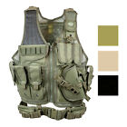 Valken Tactical Cross Draw Vest with Magazine and Pistol Holster with Belt