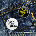 Panic at the Disco Button Badge 25mm, CHOICE OF 2