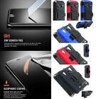 NP ARMOR Premium GLASS Screen Protector + Holster Belt Clip Case For SAMSUNG